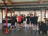Gruppenbild Fitnessstudio